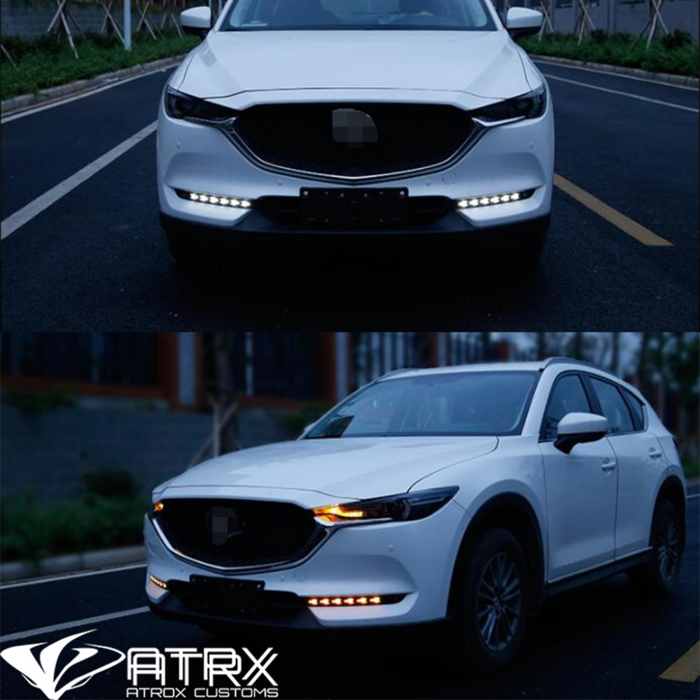 biseles niebla led drl blanco ambar garant a mazda cx5 2018. Black Bedroom Furniture Sets. Home Design Ideas