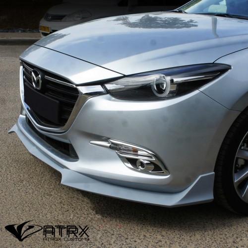 Lip Bumper Faldón Frontal Israel Mazda 3 2017 - 2018