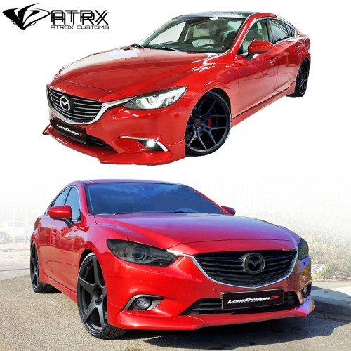 Body Kit Faldones Lip Estribos Difusor Israel Mazda 6 2013 - 2018