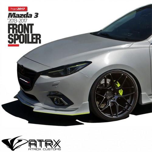 Lip Bumper Faldón Frontal Israel Mazda 3 2014 - 2016