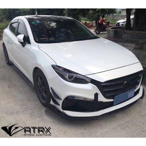 Parrilla Rejilla Fascia Frontal Mazda 3 2017 - 2018