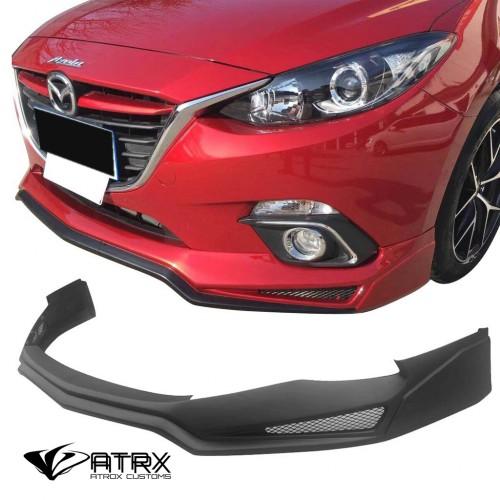 Lip Bumper Faldón Fascia Frontal V3 Mazda 3 2017 - 2018